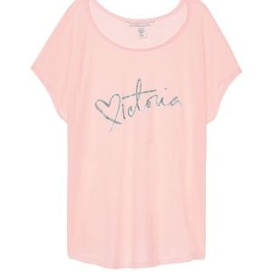 Victoria's Secret sleep tee